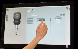 TouchDMIS CMM Software Probe Manager Screenshot