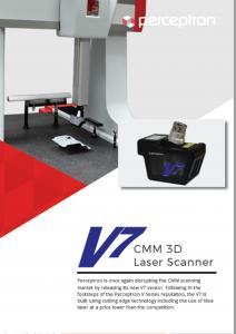 Perceptron V7 CMM 3D Laser Scanner Brochure Thumbnail